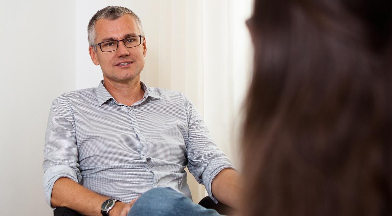 Psychotherapeut Michael Schiefermair